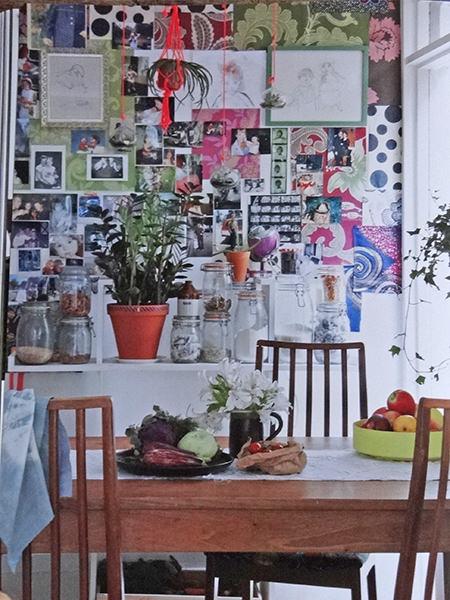 kitchen diner wall