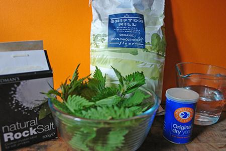 nettle loaf ingredients
