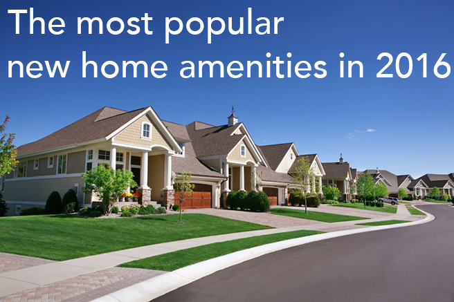 the most popular new home amenities in 2016 h is for home gt amenities