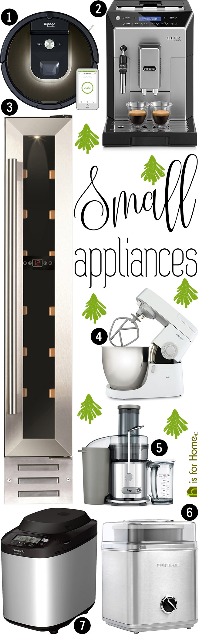 Christmas gifts of the day small appliances h is for