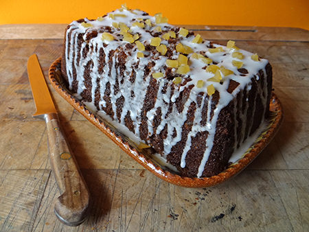 Sticky Ginger Loaf Cake Recipe