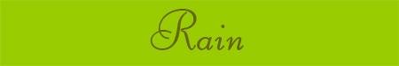 'Rain' blog post banner