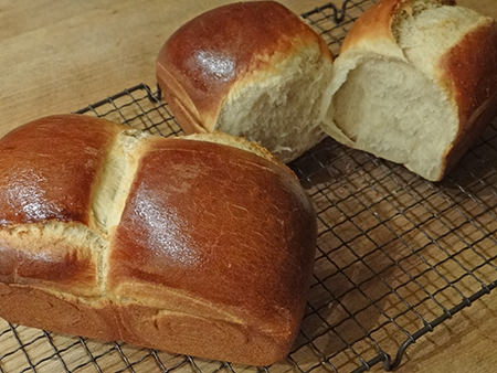 Hokkaido milk bread   @hisforhome
