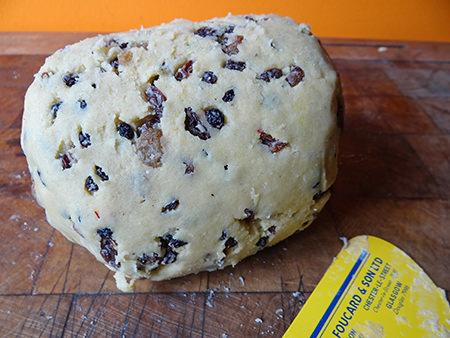 saffron loaf dough | @hisforhome