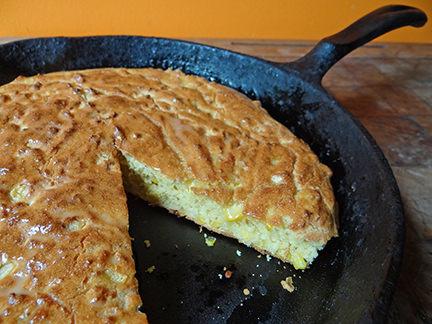 Cakes & Bakes: Skillet cornbread