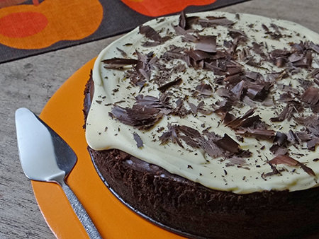 Triple chocolate cheesecake   @hisforhome